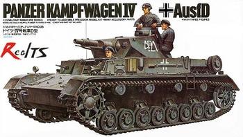 RealTS Tamiya model 35096 1/35 Panzer Kampfwagen IV Ausf.D