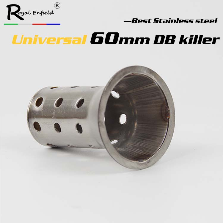 Motorcycle Exhaust Muffler Silencer Db Killer 60mm 60mm-Diameter Eliminator Noise-Sound