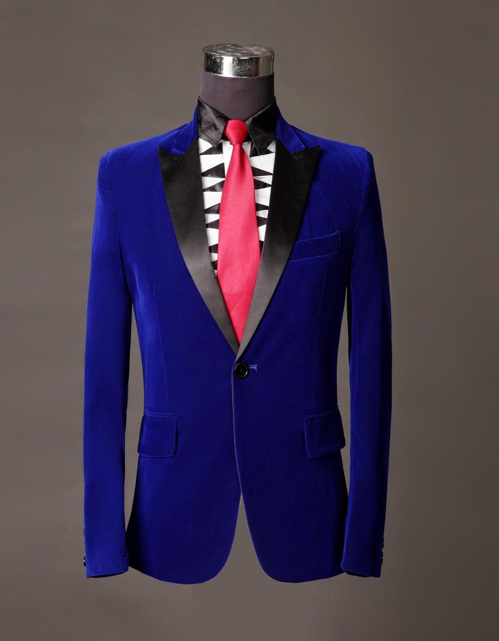 Compare Prices on Silk Suits Men Royal Blue- Online Shopping/Buy ...