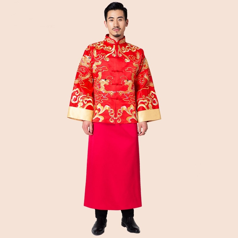 Traditional chinese dress men male traditional chinese clothing ...