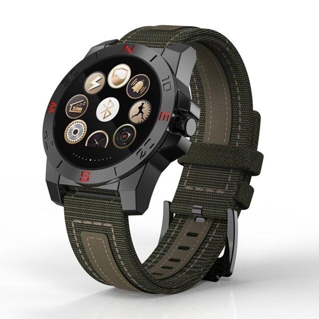 Спорт Bluetooth Smart Watch N10B N10 B С Компасом Heart Rate Monitor Водонепроницаемый Фитнес-Трекер Smartwatch Для Android IOS