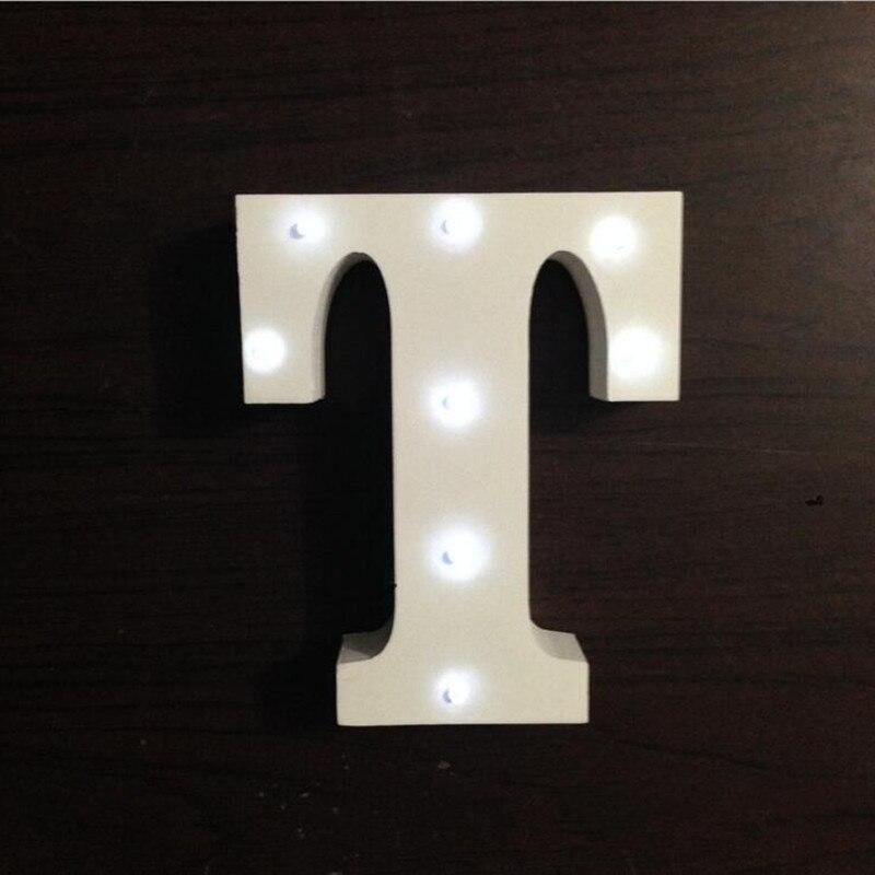 Luzes da Noite 3d carta diy lâmpada de Night Light : Letter Night Light