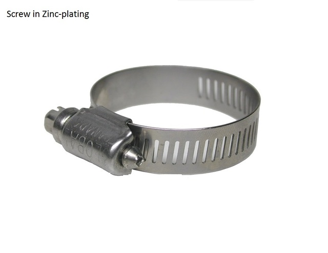 200pcs lot premintehdw stainless steel hose collar clamp sleeve clip