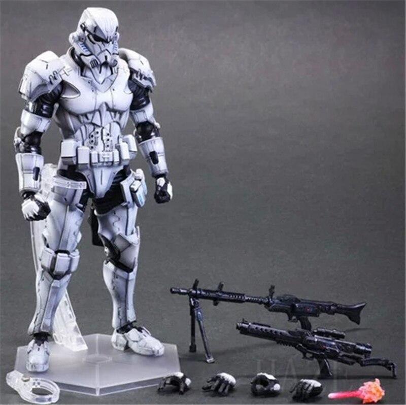 все цены на  New Square Enix VARIANT Play Arts Kai Wars Stormtrooper Action figure Toy  онлайн