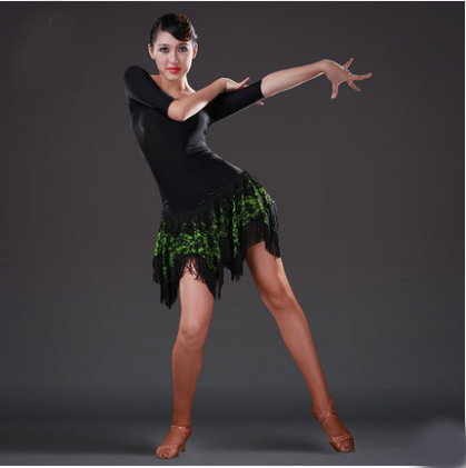 Latin Dance Dress Women Sexy Ballroom Tango Dance Skirt Girls Tanzrock Latein Salsa Vestiti Da Ballo Robe De Danse Latine Femme Women In Sheer Dresses Dress Length Short Womendress Slacks Women Aliexpress