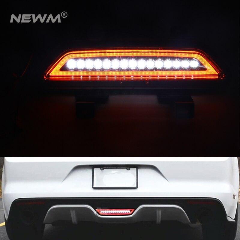 Clear Lens All-In-One Full LED Rear Fog Light Kit (Tail/Brake, Backup Reverse Functions) For 2015-up For Ford Mustang антенна телевизионная внешняя one for all full hd sv9455