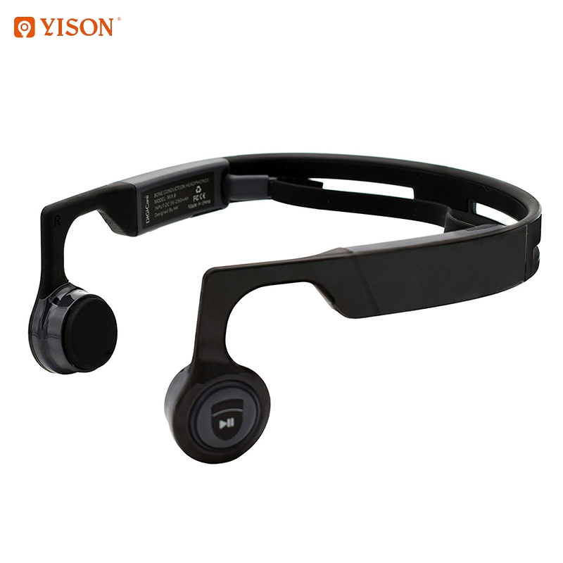 Wireless Bluetooth 4.1 Bone Function Headphones Earphone Headset with Built-in Microphone Hands Free Stereo for Cycling Riding headphones car charger bluetooth in ear headset earphone earpiece combo wireless connection hands free with microphone 2 in 1