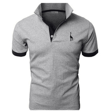 TJWLKJ мужская одежда 2019 топ футболки мужские Поло рубашка 5xl палевый узор короткий рукав рубашка поло 13 видов цветов облегающие футболки поло Para Hombre