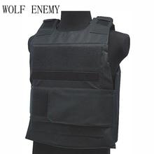 Wolf Enemy спортивный жилет вниз бронежилет пластина тактическая сумка жилет CB камуфляж лесной Лучшая цена охотничий жилет