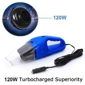 Image 4 - Auto Handheld Stofzuiger 120 W Draagbare Nat en Droog Dual Gebruik Stofzuiger Aspirateur 12 V auto Essentiële cleaning tools
