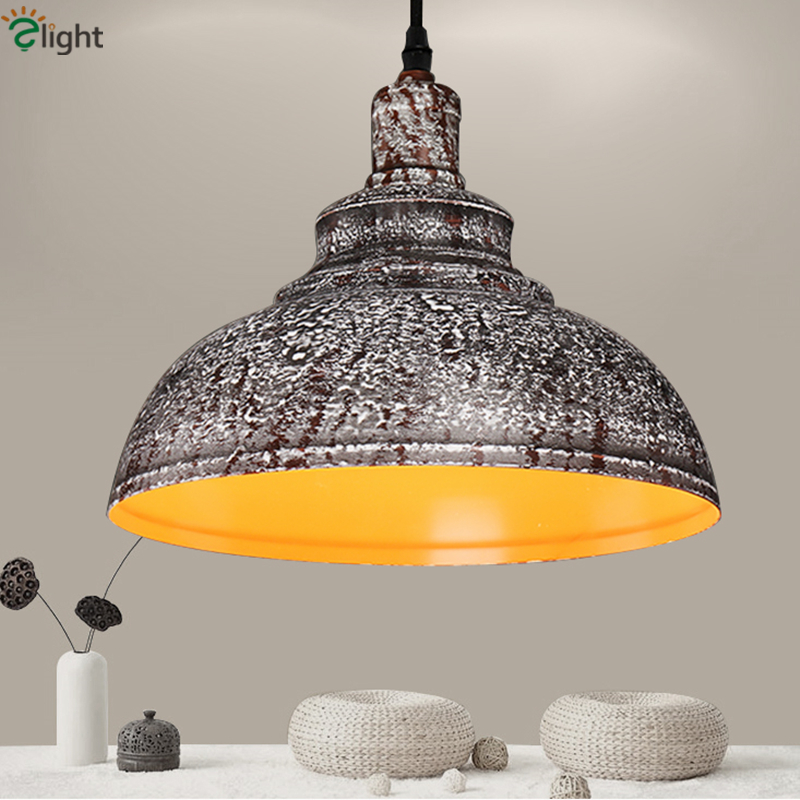 ФОТО 85-265V American Vintage Painted Metal Wire Suspended Lamps Industrial Style Led Pendant Light For Bar Coffee House