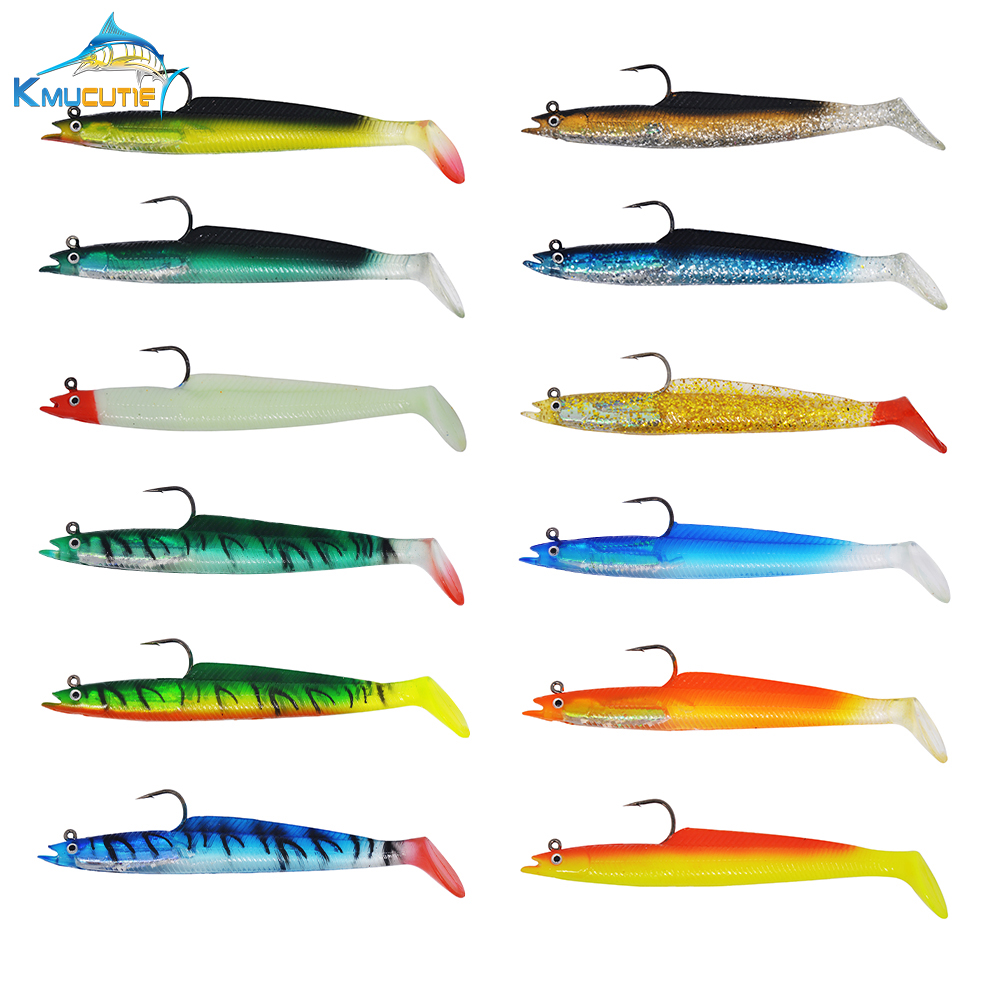 """10 NEW Rigged Trolling Big Game Lure Bait Skirt 7/"""""""