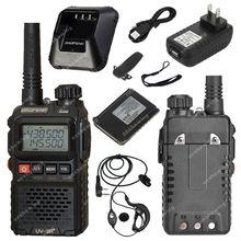 BAOFENG УФ-3R Plus УФ-3R + УКВ Двухдиапазонный 136-174/400-470 Двухстороннее Радио ON0410