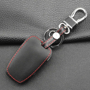 Image 5 - Jingyuqin 4 кнопки кожаный чехол для ключей автомобиля для 2013 2014 2015 HYUNDAI SANTA FE IX45 GENESIS EQUUS AZERA Автоаксессуары без ключа