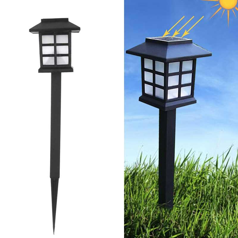 Movido A Energia Solar LEVOU Lanterna Lâmpada Do Gramado Do Jardim Paisagem Luzes do jardim de Energia solar LEVOU Luz Ao Ar Livre À Prova D' Água