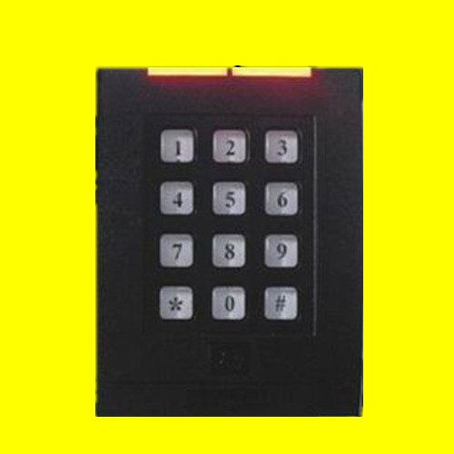 Weatherproof 13.56Mhz MF1 S50 keypad WG26/34 RFID Access Control Card READER waterproof touch keypad card reader for rfid access control system card reader with wg26 for home security f1688a
