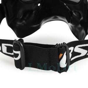 Image 4 - LMoDri Motorcycle Goggles Helmet Mask Outdoor Riding Motocross Skulls Windproof Wind Glasses Sandproof Goggle Kinight Equipment