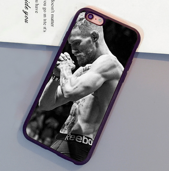 Amazing conor mcgregor Printed Mobile Phone Cases OEM For iPhone 6 6S Plus 7 7 Plus 5 5S 5C SE 4S Soft Rubber Back Cover Shell