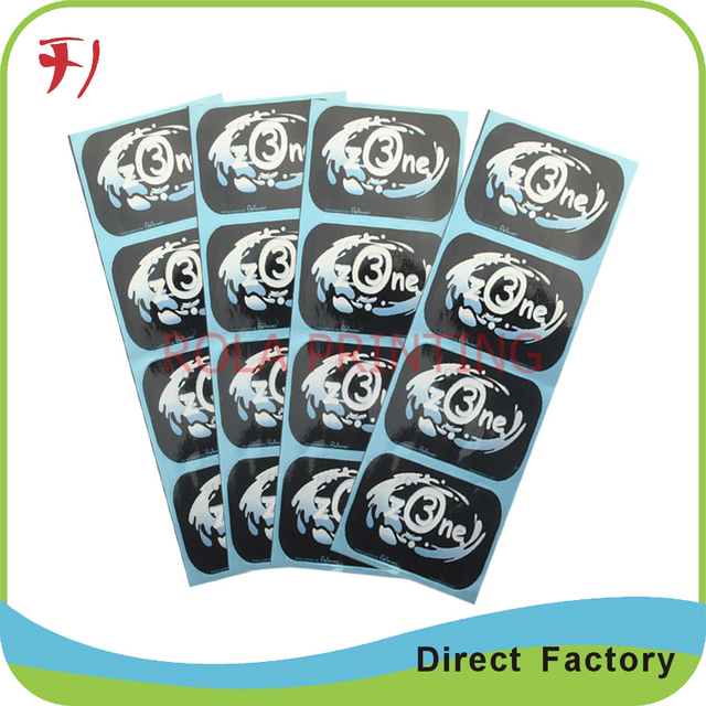 China self adhesive plastic stickers custom printed adhesive labels round stickers