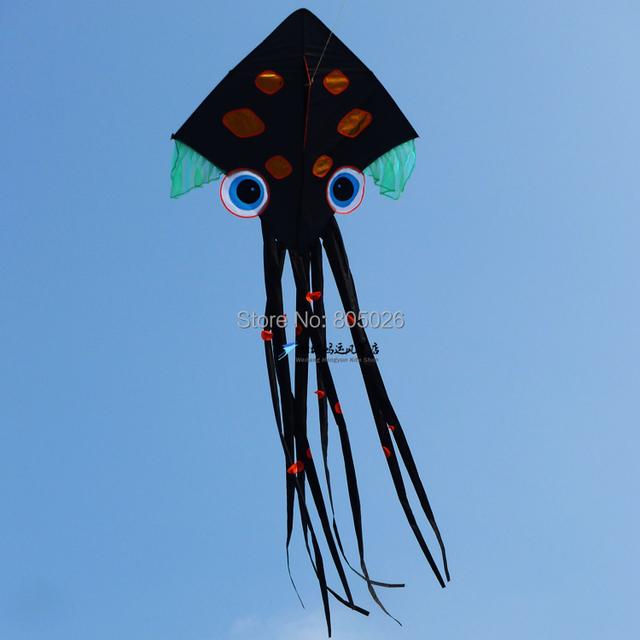 O envio gratuito de alta qualidade simplesmente polvo kites pipas crianças venda com linha pega brinquedos ao ar livre wei pipa fábrica atacado