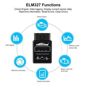 Image 2 - Konnwei KW912 ELM327 bluetooth Pic18f25k80 Obd2 v1.5 スキャナー車診断ツールコードリーダースキャンOBD2 自動車車Obd2 ツール