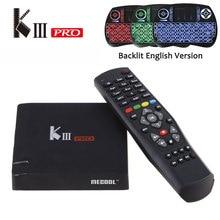 En la Acción! KIII Pro DVB T2/S2 3G 16G TV Box Android 6.0 Amlogic S912 octa-core 4 K * 2 K 2.4G y 5G Wifi Bluetooth 4.0 Android tv caja