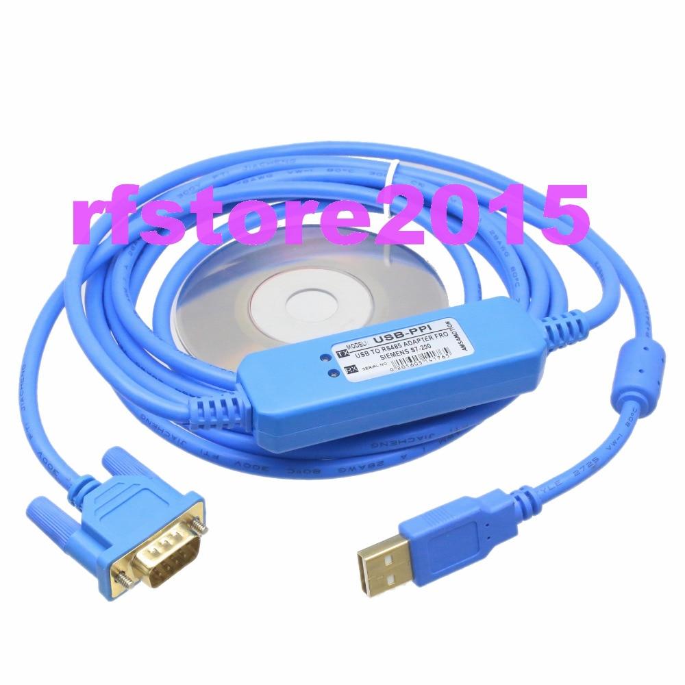 с USB-ицп ПЛК кабель