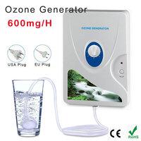 Home Sterilizer 220V 110V 600mg H Ozone Generator Ozonator Ionizer O3 Timer Air Purifiers Oil Vegetable