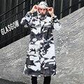 Камуфляжные дождевики для взрослых с водонепроницаемой прозрачной маской модные длинные дождевые пончо Универсальный дождевик для пеших ...