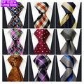 Atacado Assorted Ties Gravata Dos Homens Tamanho Extra Longo de 63 polegadas Frete Grátis 100% De Seda Do Casamento de Moda de Lote Misto