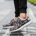 New Spring Lovers Canvas Shoes Camouflage Military Men's Casual Superstar Light Flats Shoes Fly Fabric Mens Shoes Zapatos Hombre