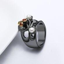 Специальное уникальное женское кольцо неоготическое ювелирное