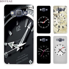 BINYEAE Funny Clock Clear Transparent Cell Phone Case Cover for Samsung Galaxy A3 A5 A7 A8 A9 2016 2017