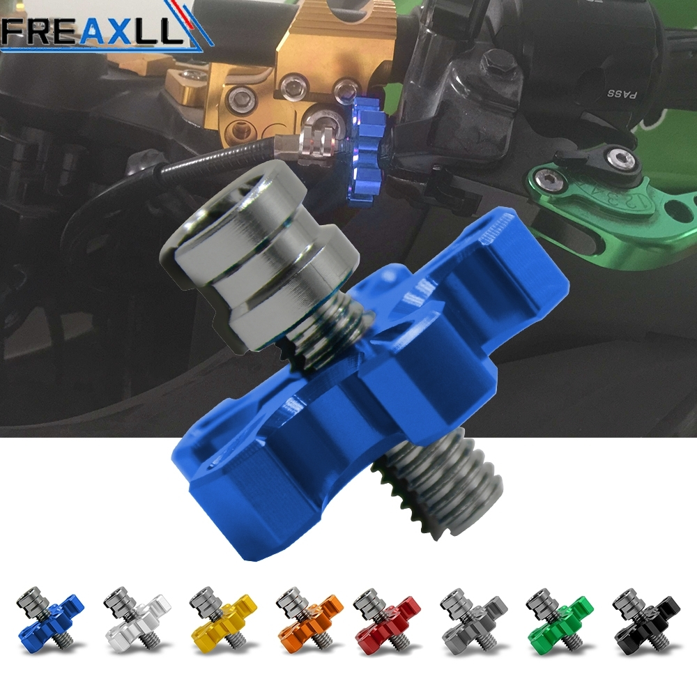 Universal Motorcycle CNC Aluminum Clutch Cable Wire Adjuster M8 1 25 M10 1 25 FOR BMW F800GS F800R F700GS R1200GS ADVENTURE in Covers Ornamental Mouldings from Automobiles Motorcycles