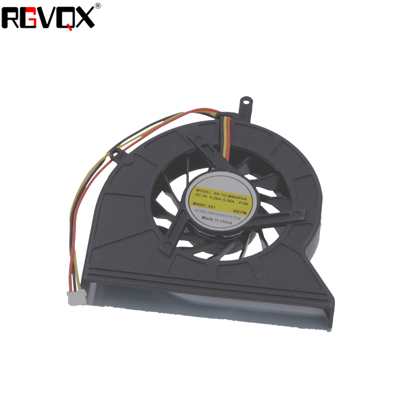Купить с кэшбэком New Laptop Cooling Fan for TOSHIBA Satellite M800 PN: GB0507PGV1-A AB7005HX-EB3 CPU Cooler/Radiator