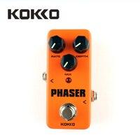 KOKKO FPH2 Mini Guitar Amplifier OD Effect Pedal Orange Mini Pedal Phaser Guitarra Pedal Efectos Calidad
