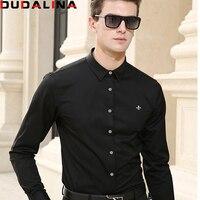 Camisa Men Shirt Long Sleeve 2017 Brand Clothing Casual Shirts Slim Fit Camisa Social Xadrez Masculina
