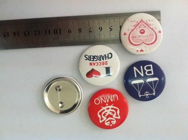Selling Custom Button Badge Tin Badge Pin Badge 4 Cm Diameter Print Custom Design 1000pcs Free Shipping By Fedex