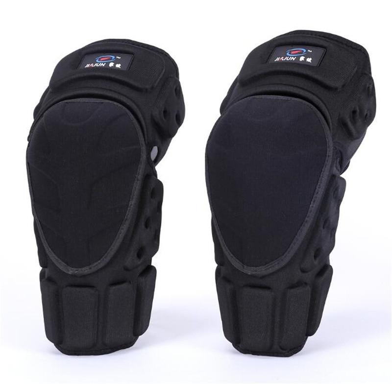 ICESNAKE Moto Knee Pads Black Protective Motorcycle Kneepad Motorcycle Motocross Bike Bicycle Pads Knee Pads Protective Guards