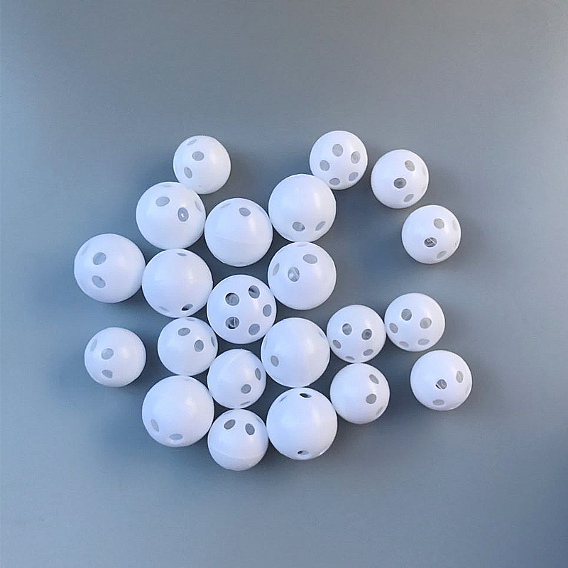 50pcs font b Pet b font Baby Squeakers Rattle Ball Noise Maker Insert Dog Toy 24mm