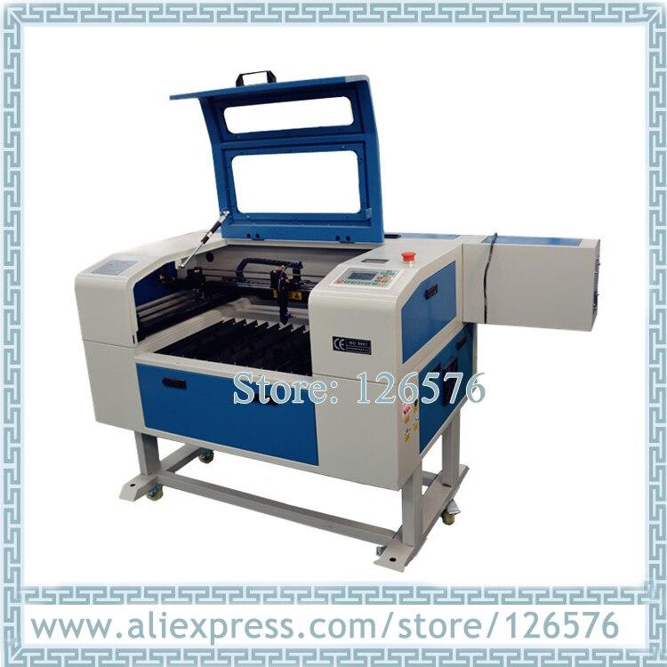 6040 grawerowanie laserowe i maszyna do cięcia CO2 lampy laserowej 600X400 MM grawer laserowy