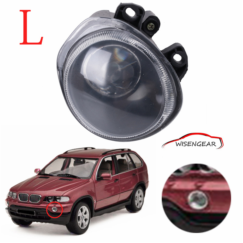 Left Side Front Fog Lights Driving Lamps For BMW X5 E53 2000-2002  63178409025 Car styling C/5