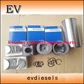 Para perkins gerador 1003G14 T3135J215M pistão e anel de pistão set T721020007 T4181A026 + forro do cilindro