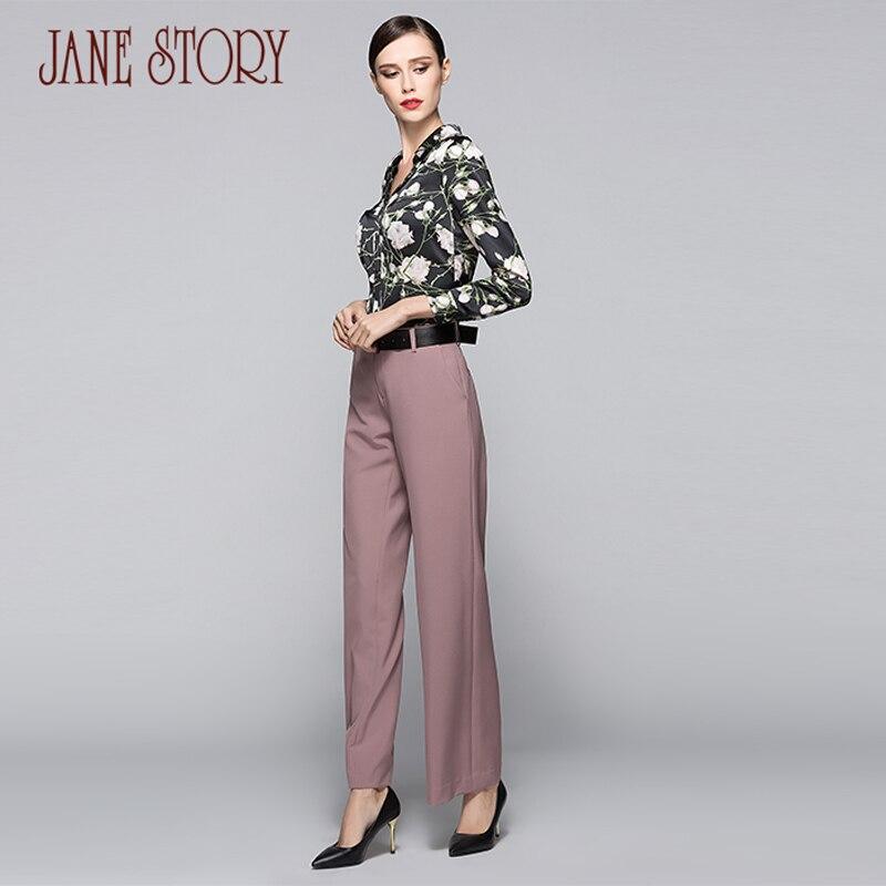 Automne s01 Brown Solide Longs Jane Travail Ol Style Histoire o05 Pour Bureau 2017 Femelle Couleurs White R05 Pantalons n01pinkbrown Pantalon Printemps Femmes Black 48Rt8q