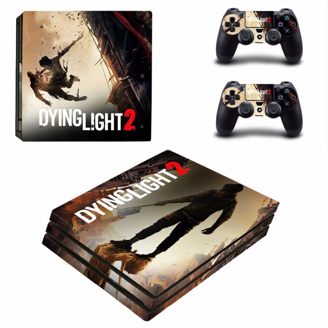 US $9 49 5% OFF|Dying Light 2 PS4 Pro Skin Sticker For Sony PlayStation 4  Console and Controllers PS4 Pro Skin Stickers Decal Vinyl-in Stickers from