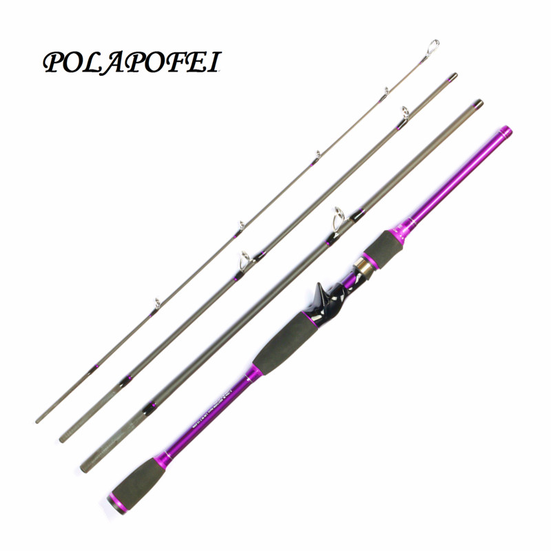 Brand polapofei lure fishing rod carbon spinning rod for Fishing pole brands