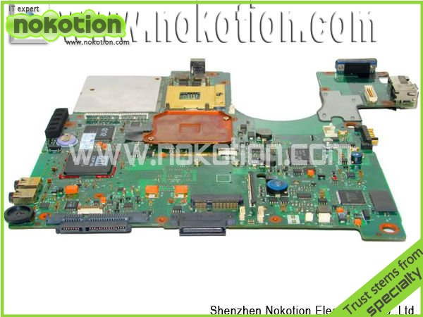 NOKOTION Laptop Motherboard for Toshiba A100 A105 V000068800 DDR3 Mainboard Mother Boards Full Tested warranty 60 days nokotion 658341 001 laptop motherbopard for hp 4530s 4730s hm65 hd graphics mother boards mainboard full tested warranty 60 days