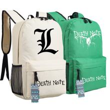 Colorful Death Note Travel Backpack