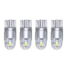 4pcs/set High Quality T10 W5W 168 2LED Car Interior Reading Light Lamp White 6500K 12V Dome
