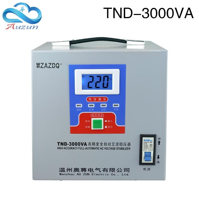 Digital Display 3KW Automatic Voltage Stabilizer 3000W Computer 220V Refrigerator Vvoltage Stabilizer Single Phase